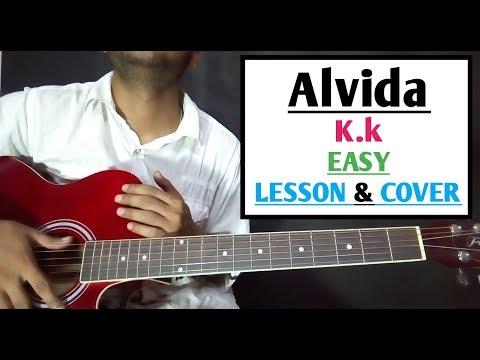 Alvida Kk Cover Hindi Song Guitar Chord Lesson By Suresh MP3 Video ...