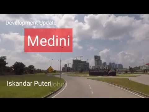 Development progress in Medini, Iskandar Malaysia, 26 March 2017