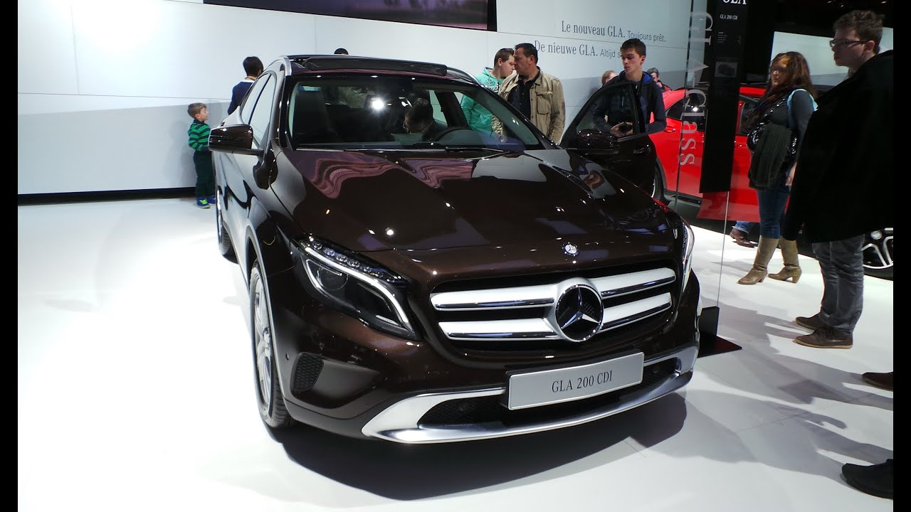 new mercedesbenz red gla 220 and a brown gla 200 92e