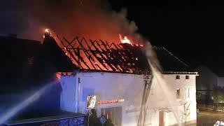 Verheerender Brand in Bundenbach