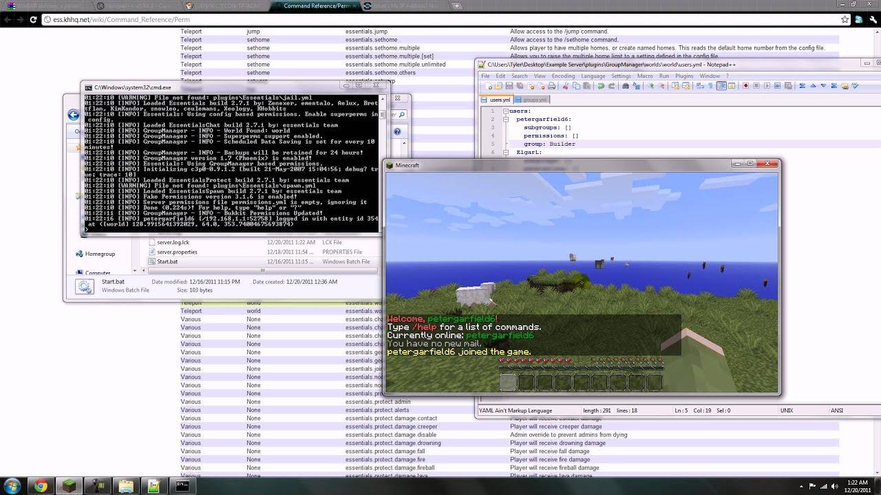 Launch Bukkit Server
