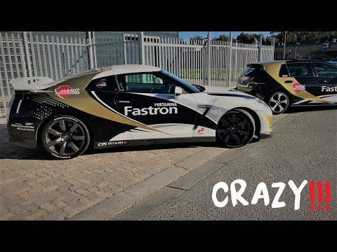 Nissan R35 GTR Properly scared me!
