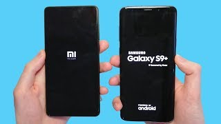 Xiaomi Mi Mix 2S vs Samsung Galaxy S9 Plus Speed Test and Cameras! 🔥