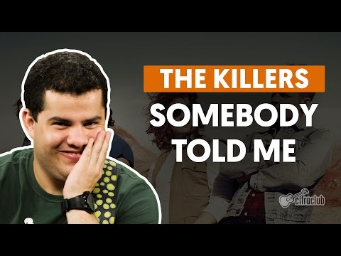 Somebody Told Me - The Killers (aula de guitarra)