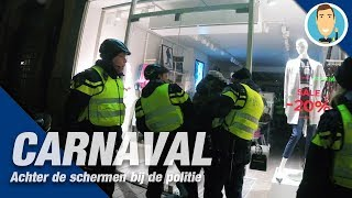 CARNAVAL Den Bosch. Achter de schermen bij de politie. Oeteldonk