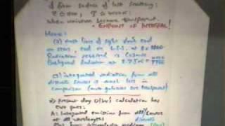 Cosmology, George Ellis | Lecture 4 Part 2