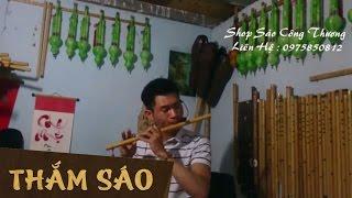 Trăng Về Thôn Dã Thắm sáo ( sáo C5 )