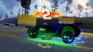 Jackson Storm is one mean race car! Cars 3 Driven to Win