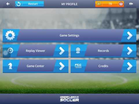 Deleting all my replay viewer (Dream league soccer)