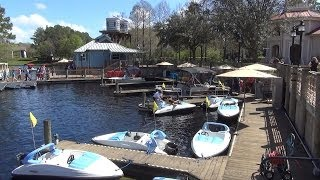 Disney's Port Orleans Riverside Pontoon Boat Tour to Downtown Disney, Old Key West (Final Day)