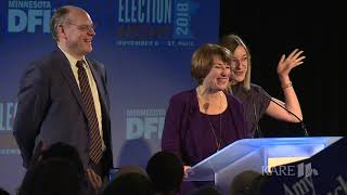 Amy Klobuchar delivers acceptance speech for 3rd term