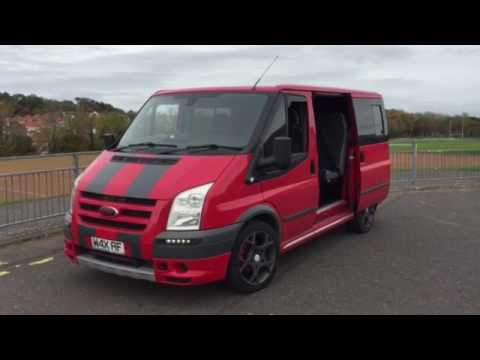 The Party Bus! Ford Transit Sport Sound System