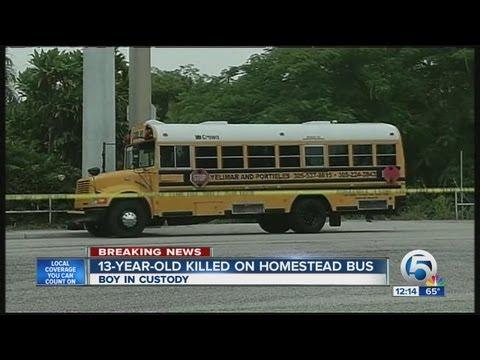 Deadly school bus shooting in Miami-Dade County