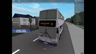 Driving a Volvo B7TL Trident to somewhere   Buses   Roblox