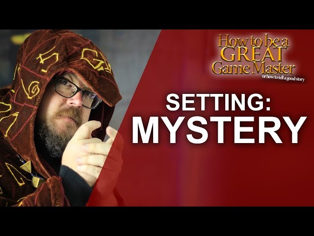 GREATGM: Mystery Setting for your Role Playing Session