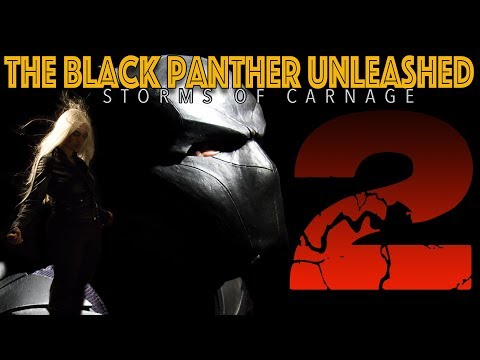 The BLACK PANTHER vs STORM and the Xmen!!   STORMS OF CARNAGE part 2