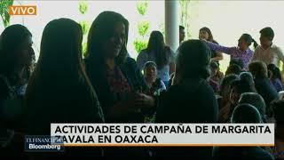 Margarita acusa a AMLO de dividir a la población