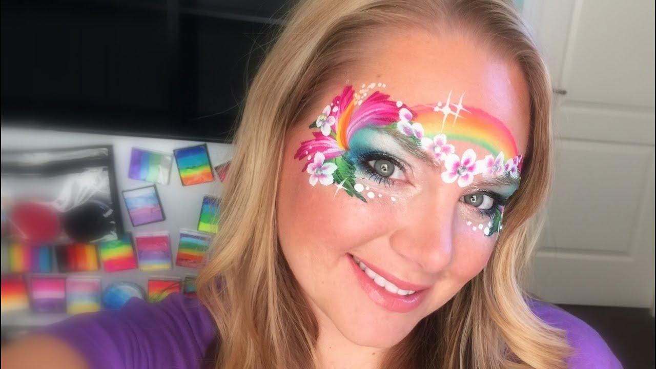 Encuentra más productos de libros, revistas y comics, libros. Island Princess Face Painting using Kryvaline - YouTube