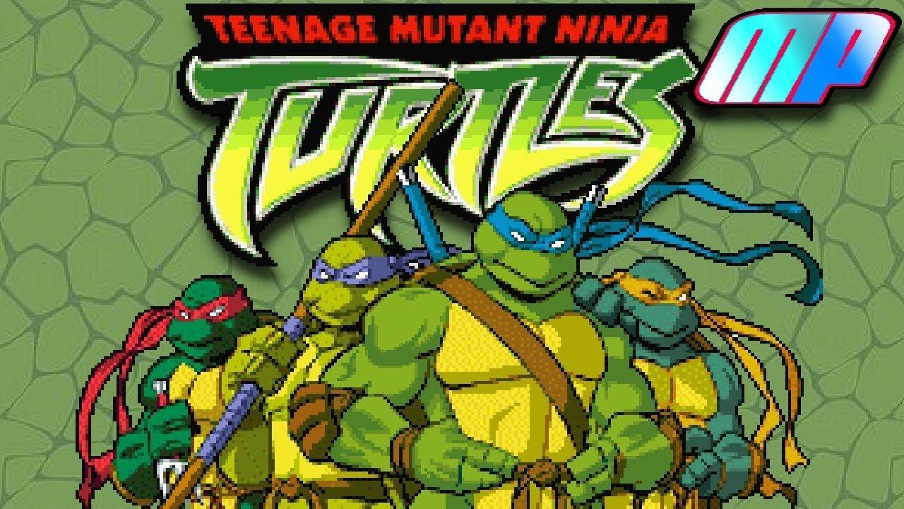 Teenage Mutant Ninja Turtles Gameboy Advance Playthrough Longplay Retro Game Youtube