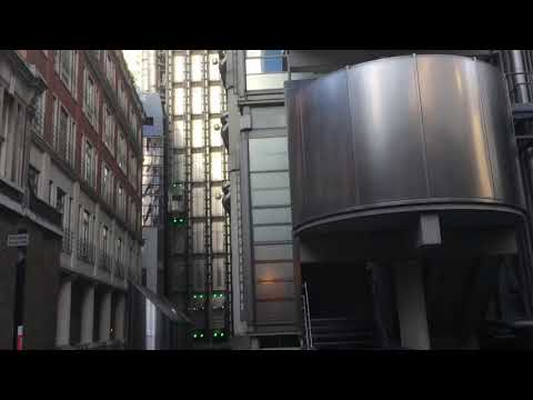 Lloyd's building and Leadenhall market London 25 11 17