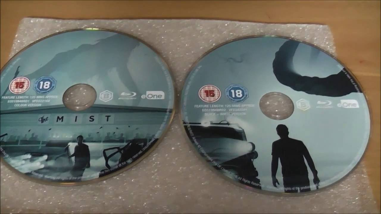 Download THE MIST (2007) Zavvi UK Blu-ray Steelbook