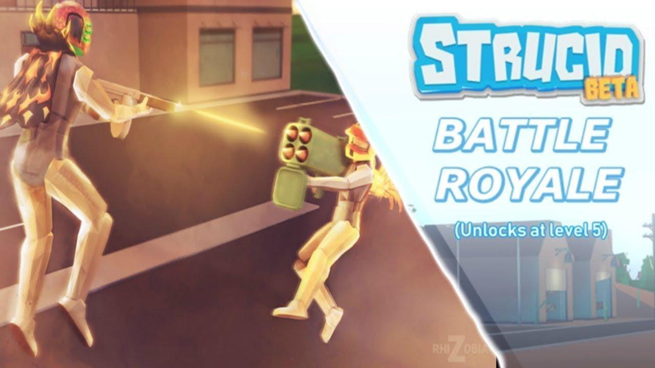 STRUCİD-BATTLE ROYALE / ROBLOX - YouTube