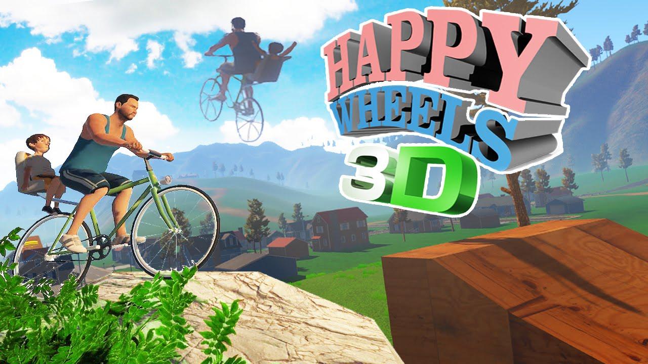 EL NUEVO HAPPY WHEELS EN 3D | GUTS AND GLORY #1 - YouTube