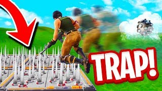 *EPIC* IMPULSE Grenade TRAP! (Fortnite Battle Royale)
