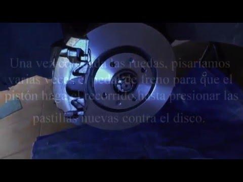 Cambio de discos y pastillas freno CITROËN C4 GRAN PICASSO