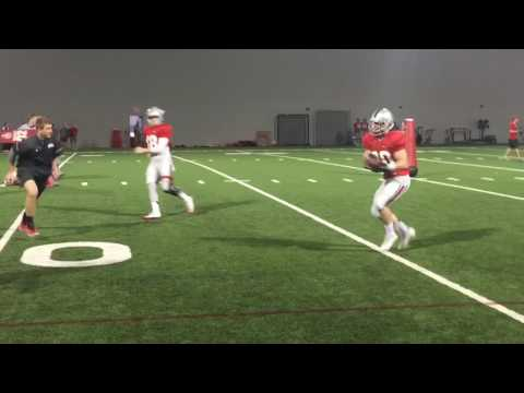 Ohio State quarterbacks going through drills, throwing deep ball: March 28
