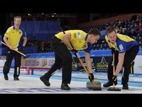 CURLING: SWE-NOR Euro Chps 2013 - Men Draw 4