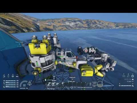 Space Engineers Tutorial - Season 2 Episode 2 - Departure Ship Technique