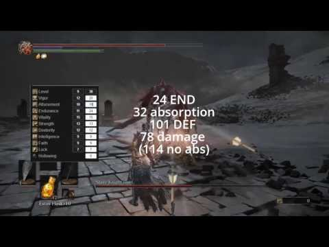 Dark Souls 3 - Vitality, Is it OP early?