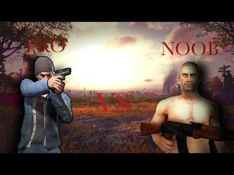 Pubg : pro vs 4 noob can they survive