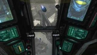 Halo 3 ODST Easter Egg- Amber Clad (Master Chief's Ship)