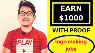 Earn $1000 With Proof No Investment - Design Crowd Logo Design Jobs