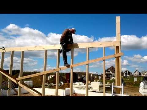 видео: Строим  дом своими руками и своими силами ....
