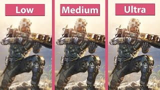 Call of Duty: Black Ops 3 – PC Low vs. Medium vs. Extra Detailed Graphics Comparison