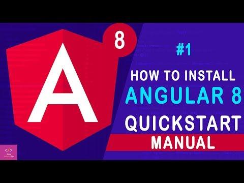 How to Install Node.Js, NPM, And Angular CLI and Setup Angular 8 on Windows 10 [Tutorial - 1] thumbnail