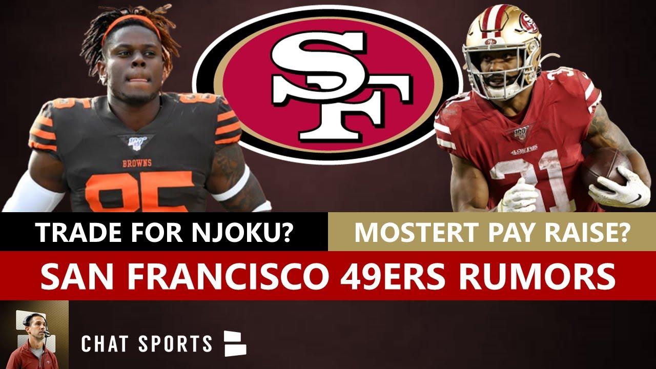 49ers Rumors & News: David Njoku Trade? Raheem Mostert Pay Raise? 49ers-Seahawks Top 5 NFL Rivalry?