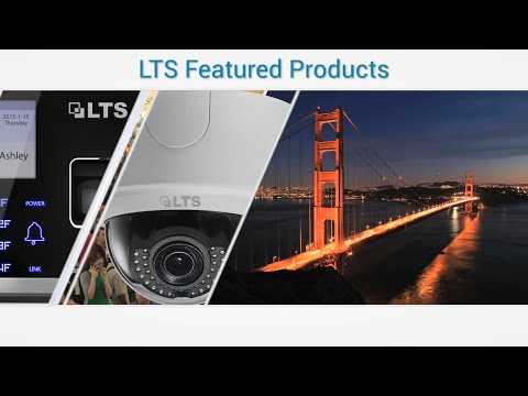 2015 LTS Product Video Featuring 4K IP Cameras, 4K NVR, Access Control, and new HD-TVI Cameras