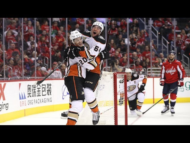 Ducks storm back with five straight goals to shock Capitals in 6-5 win