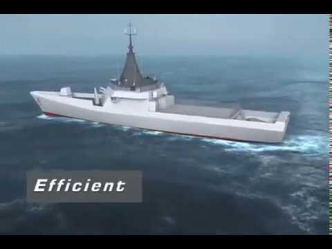 DCNS - Innovative Gowind OPV Named L'Adroit [480p]