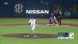 2018 NCAA Baseball #8 Vanderbilt at #2 Florida 3 30 2018