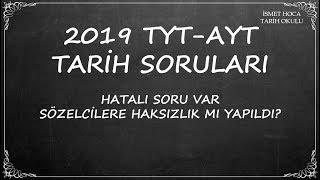 2019 TYT-AYT TARİH SORULARI