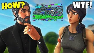 you WON'T believe this glitch in fortnite... FORTNITE NEEDS TO FIX!!