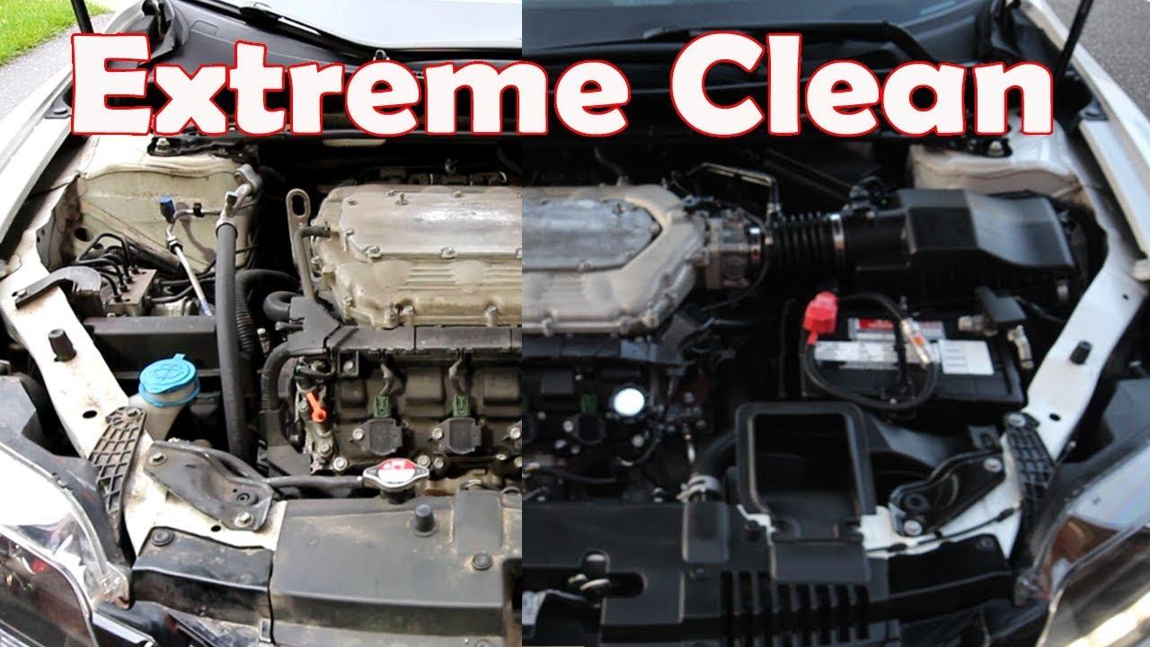 2017 Honda Odyssey >> How to detail a 9th Gen Honda Accord engine bay - YouTube