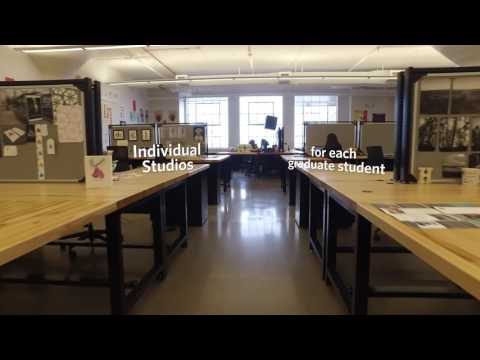 New Graduate Graphic Design Studios at Boston University School of Visual Arts