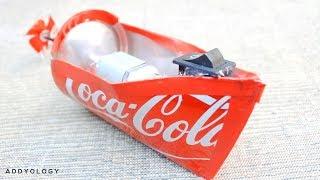 How to Make a Electric Motor Boat - Using Soda Can