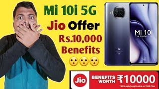Mi 10i Jio Benefits worth Rs.10000 Offer | Mi 10i 5g Jio offer | Mi 10i Discount Offer